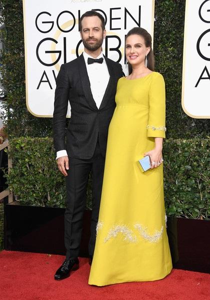 Natalie Portman được chồng, biên đạo múa Benjamin Millepied hộ tống dự sự kiện