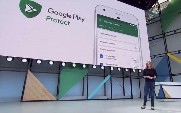 Google Play Protect là tính năng mới giúp cải thiện bảo mật trên Android O
