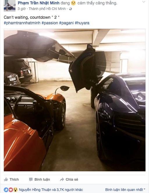 Doanh nhân nổi tiếng về bộ sưu tập siêu xe với dòng trạng thái đếm ngược gây bão.