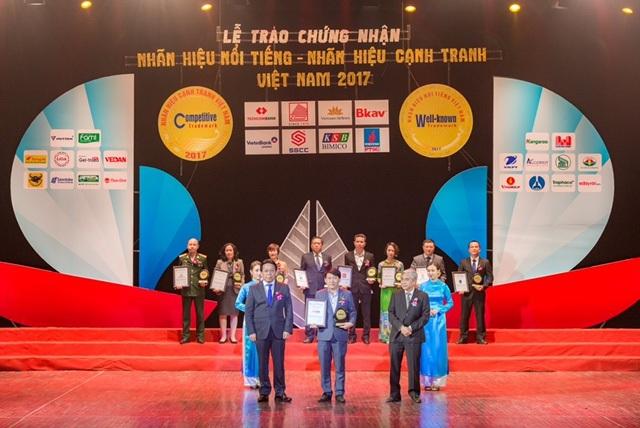 SHB được vinh danh trong Top 20 nhãn hiệu nổi tiếng Việt Nam - 1