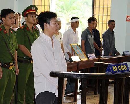 Bị cáo Hà Ngọc Lâm tại phiên tòa
