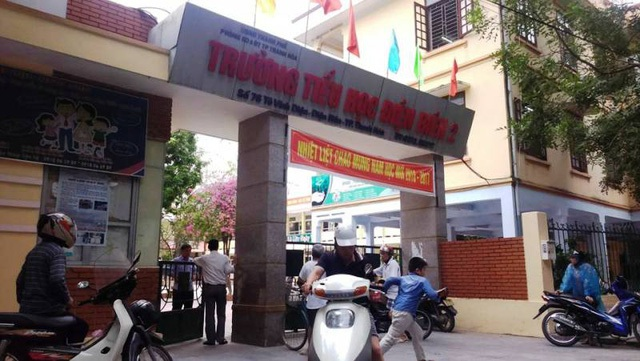 Trường tiểu học Điện Biên 2, TP Thanh Hóa.