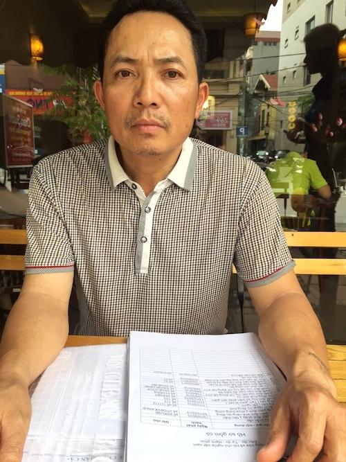 Anh Phạm Văn Tình, nhân vật bị khởi tố tội Lạm quyền trong loạt bài điều tra của Báo Dân trí.
