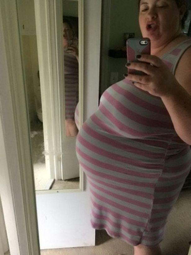 Mẹ Colin khi mang thai