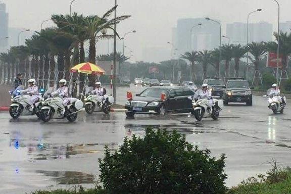 Với kiểu dáng mạnh mẽ, đội xe Yamaha FJR1300 P luôn được chọn để làm nhiệm vụ dẫn đoàn
