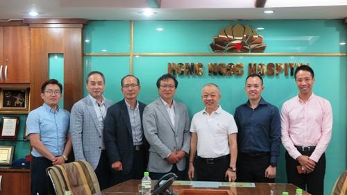 Hợp tác đào tạo bác sĩ với Bệnh viện Kyungpook đã mở ra cơ hội phát triển nguồn nhân lực y tế chất lượng cao cho Bệnh viện Hồng Ngọc