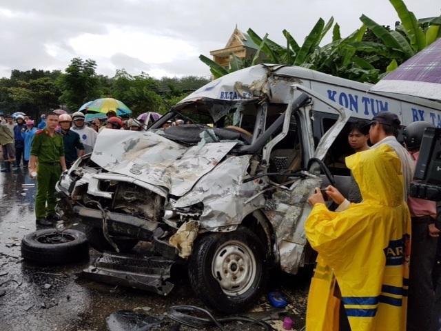Vụ tai nạn làm 14 người thương vong