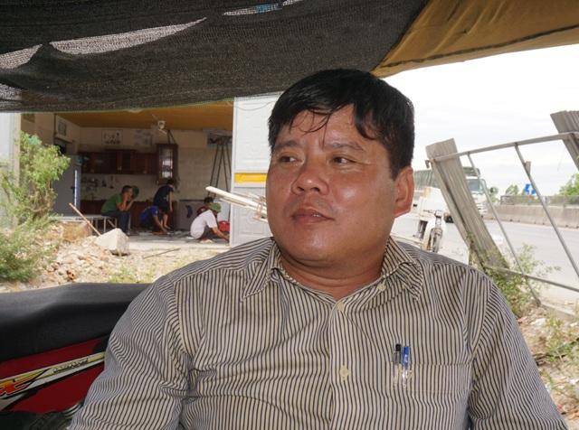Anh Lê Đức Sơn - người duy nhất ăn cơm Nhà nước, cũng chính là điều phối viên của Điểm