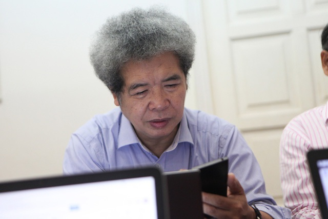 ThS. Đặng Mạnh Phổ - Chuyên gia công nghệ của Ngân hàng Đầu tư và Phát triển Việt Nam.