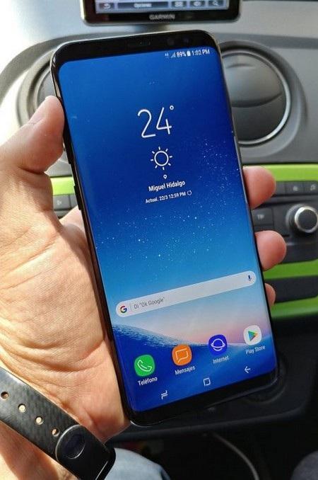 Loạt ảnh thực tế rõ nét Galaxy S8+ tiếp tục bị rò rỉ - 1