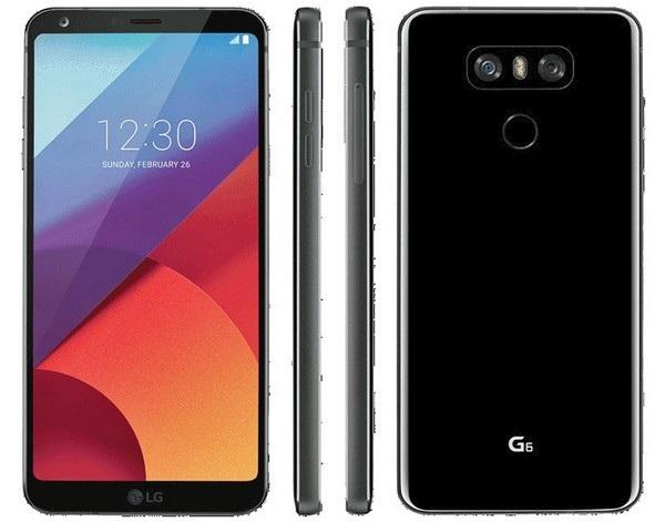 Hình ảnh chính thức mặt trước và sau của LG G6 vừa bị rò rỉ