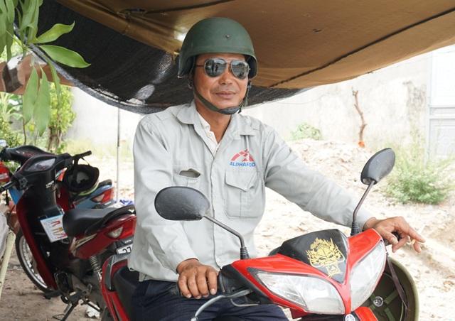 Anh Trịnh Văn Phương đã từng bị người nhà nạn nhân túm cổ đòi đánh vì nhầm là... người gây tai nạn