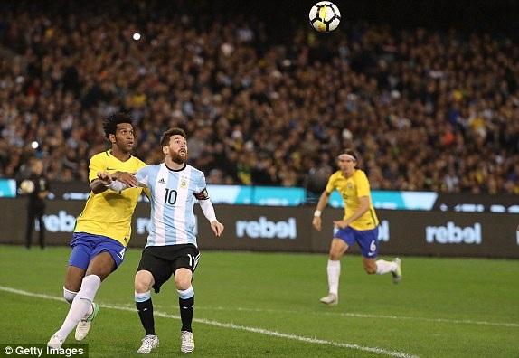 Lionel Messi đã có một trận đấu đầy nhạt nhòa