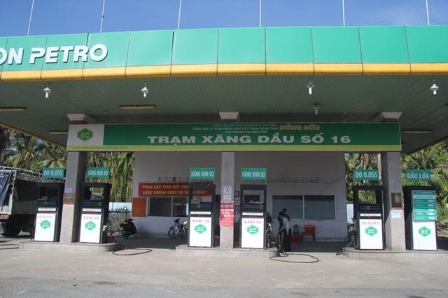 Địa điểm kinh doanh xăng dầu, nơi đoàn kiểm tra liên ngành phát hiện gian lận