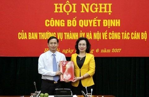 Ông Nguyễn Văn Tứ - nguyên Giám đốc Sở Kế hoạch và Đầ tư vừa chuyển sang làm Chánh Văn phòng Thành ủy Hà Nội