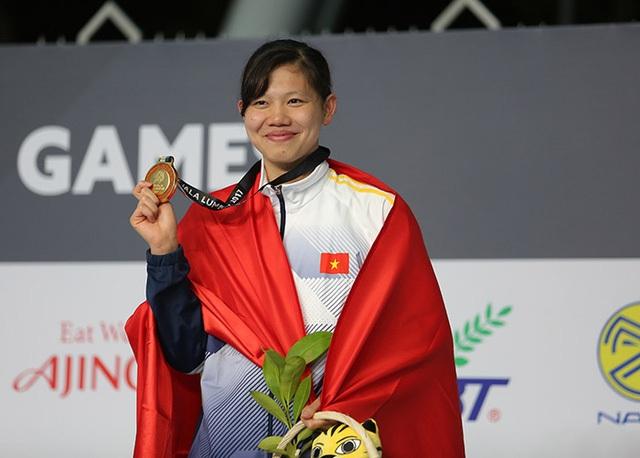 Ánh Viên giành 1 HCV và phá kỷ lục SEA Games trong ngày 21/8