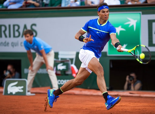 Nadal đang thi đấu rất tốt ở mùa giải đất nện năm nay