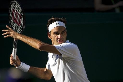 Roger Federer đang hướng tới danh hiệu vô địch thứ tám ở Wimbledon