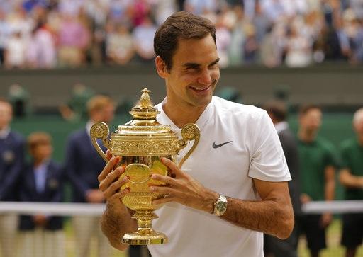 Danh hiệu vô địch Wimbledon lần thứ 8 của Federer