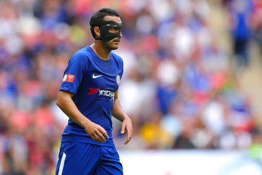 Tiền đạo Pedro của Chelsea