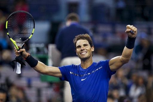 Nadal có chiến thắng thứ hai liên tiếp ở Thượng Hải Masters