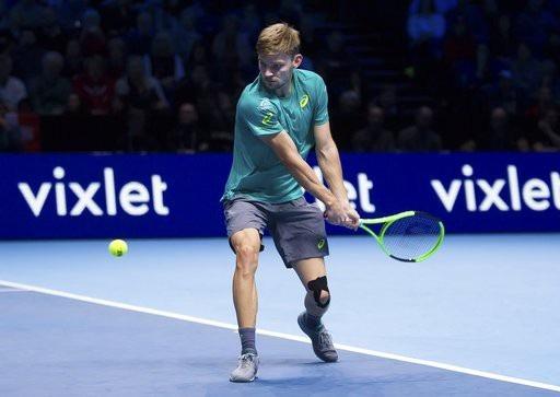 Goffin có chiến thắng để đời khi hạ Federer