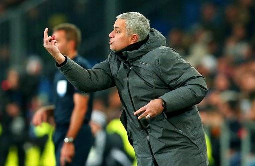 Đoàn quân của Mourinho thua ba trận kể từ 21/10 cho tới nay