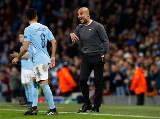 Thầy trò Guardiola giữ vững thành tích bất bại ở Premier League
