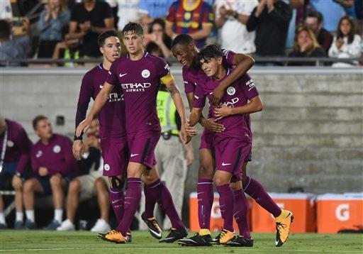 Man City chơi tấn công hiệu quả trong hiệp hai