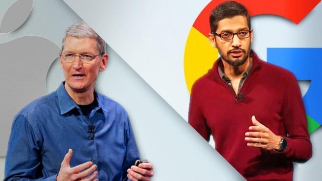 """Apple và Google - tên tuổi nào """"cao giá"""" hơn? - 1"""