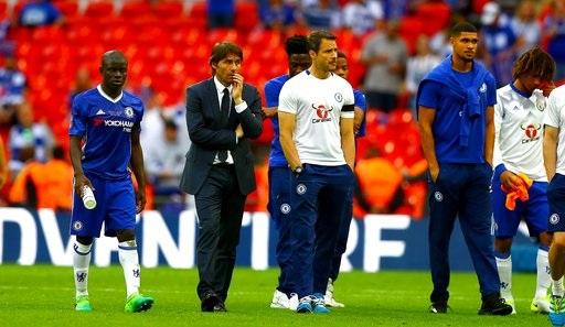 Sự thất vọng của Chelsea sau khi trở thành kẻ thua cuộc