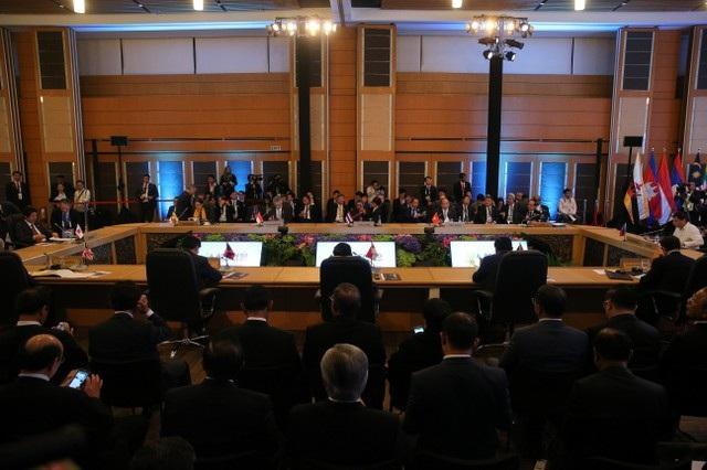 Quang cảnh Hội nghị cấp cao ASEAN-Nhật Bản tại Philippines.