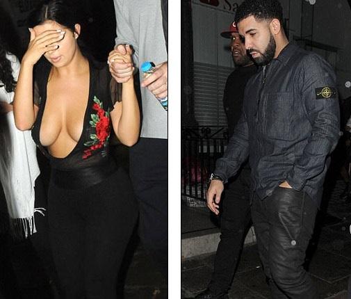Demi Rose Mawby bị phát hiện đi chơi tối tại 1 hộp đem ở London cùng Rapper Drake tối 30/8 vừa qua
