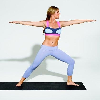 Ngôi sao 34 tuổi là người rất chăm chỉ tập gym và yoga nhiều năm nay