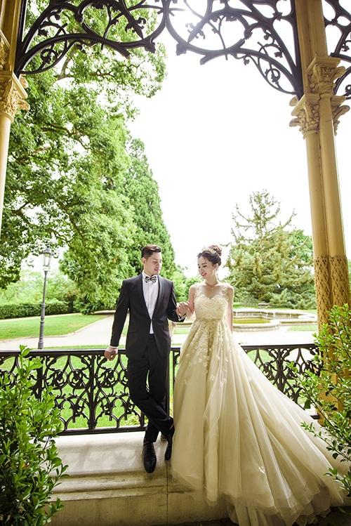 Ảnh cưới lãng mạn của cặp đôi Việt kiều ở lâu đài cộng hoà Séc - 11