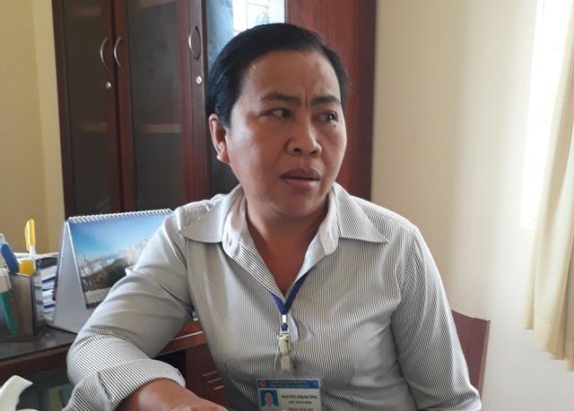 Bà Nguyễn Thị Đường - Chủ tịch UBND phường Hưng Thạnh, quận Cái Răng.