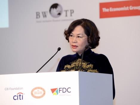 Bà Nguyễn Thị Hồng - Phó Thống đốc Ngân hàng Nhà nước: NHNN sẽ khẩn trương phối hợp các Bộ ngành nghiên cứu xem xét đề xuất trên trong thời gian tới.