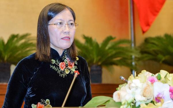 Chủ nhiệm Uỷ ban Tư pháp Lê Thị Nga.