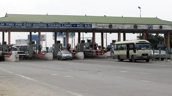 Trạm thu phí Bắc Thăng Long - Nội Bài đang thu phí hoàn vốn cho tuyến tránh thành phố Vĩnh Yên - Vĩnh Phúc, cách vị trí đặt trạm 40km.