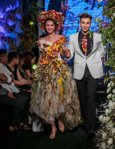 Một số hình ảnh trong show thời trang Thu- Đông 2017.