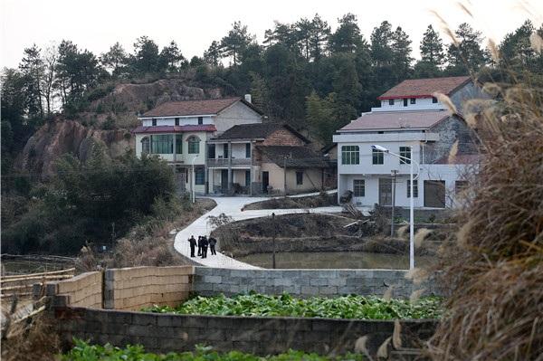 Làng Baiyun ở tỉnh Hồ Nam, Trung Quốc nơi anh Qin làm việc. (Ảnh: China Daily)