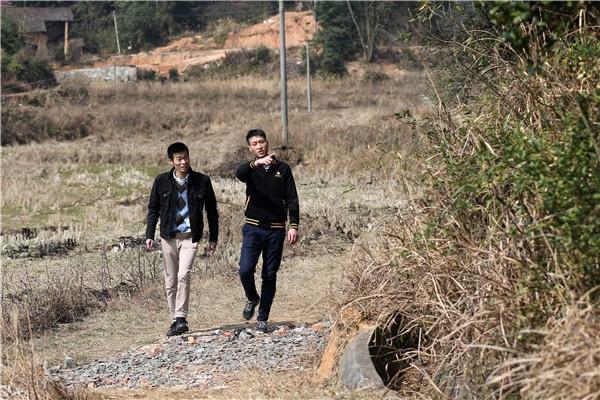 Làng Baiyun nơi Qin Yuefei sống và làm việc. (Ảnh: China Daily)