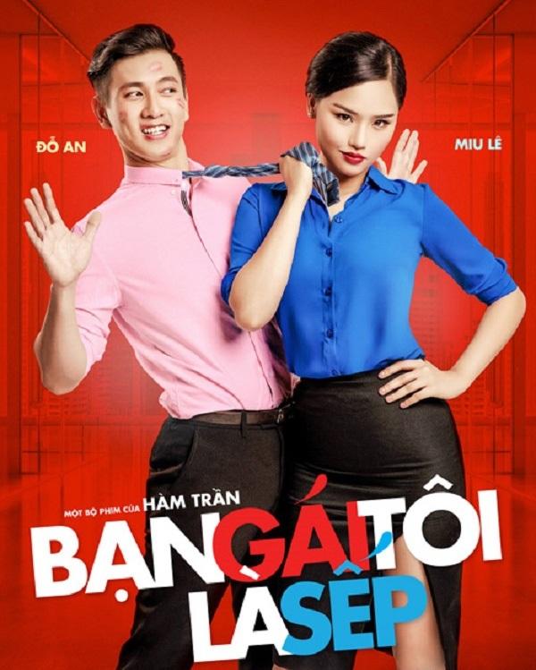 Bạn gái tôi là sếp đang kỳ vọng phim đạt doanh thu cao bởi bàn tay đạo diễn tài ba của Hàm Trần và cái tên Miu Lê.
