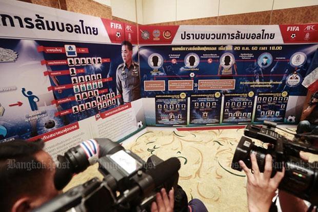 Truyền thông và giới bóng đá Thái Lan đang rúng động vì scandal dàn xếp tỷ số