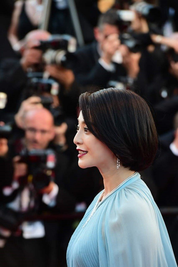 Mái tóc ngắn giúp Phạm Băng Băng trẻ trung hơn.
