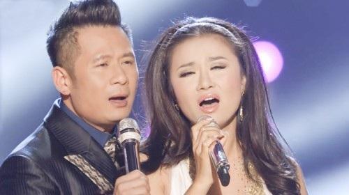 Lam Anh được xem là người tình trên sân khấu với Bằng Kiều.