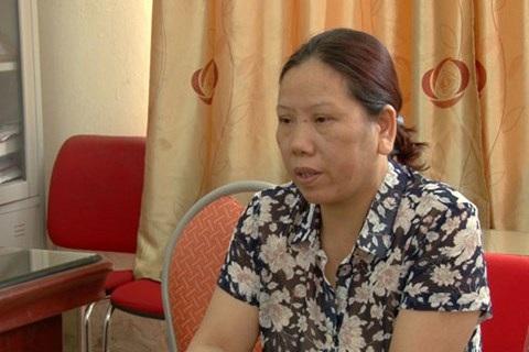 Đối tượng Trần Thị Kim Phương bị bắt giữ