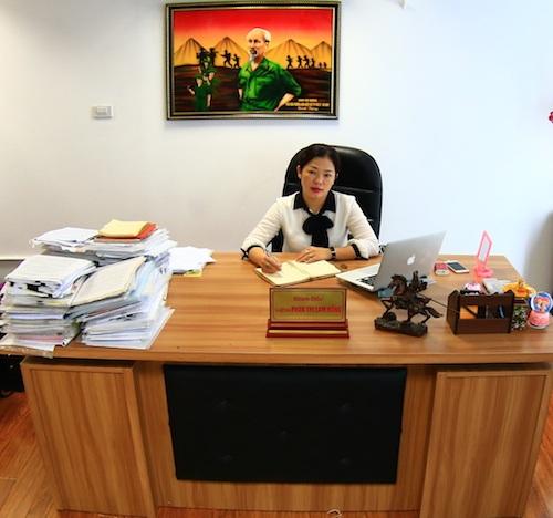 Luật sư Phan Thị Lam Hồng.