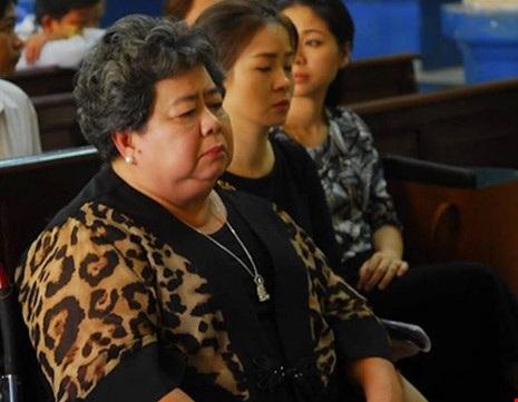 Bà Hứa Thị Phấn tại phiên tòa xét xử Phạm Công Danh.