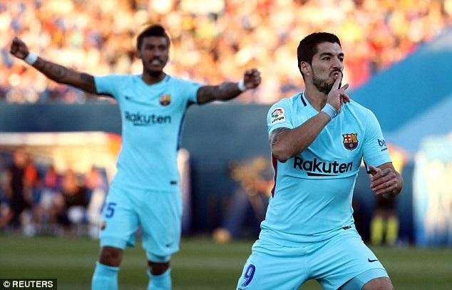 Barcelona tiếp tục củng cố ngôi đầu bảng La Liga